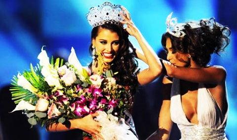 สาวงามเวเนซูเอลา คว้ามงกุฏ Miss Universe 2009