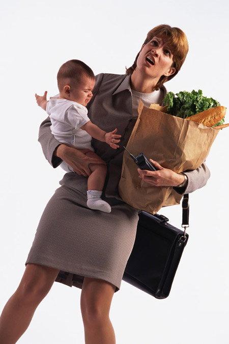 ดูดีแบบมือโปรทั้งคุณแม่และคุณลูกในเช้าอันเร่งรีบ