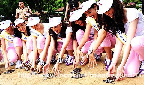 เก็บตัวแบบสร้างสรรค์ : หลากกิจกรรมนางสาวไทย 2552
