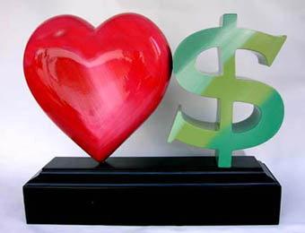 เงินๆ ทองๆ กับความคาดหวังของ  ความรัก และ การแต่งงาน