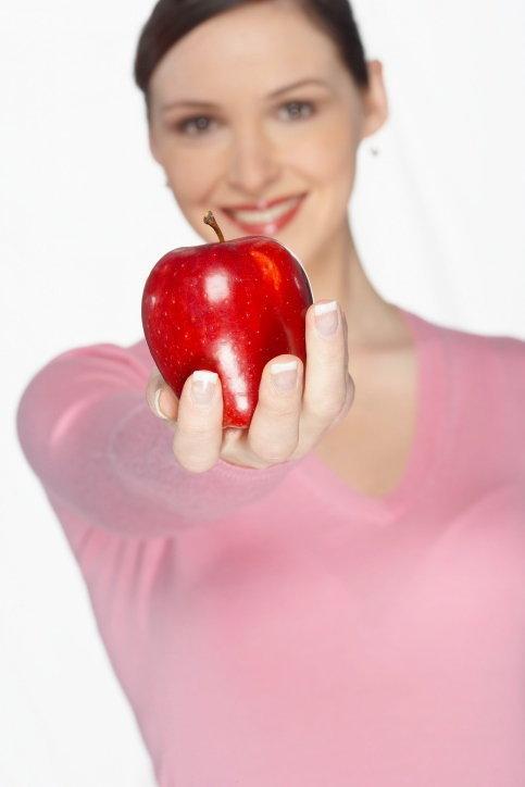 หุ่นสวยด้วยแอปเปิ้ล