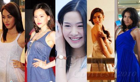 """5 นางแบบหน้าใหม่ """"ไทยซูเปอร์โมเดลคอนเทสต์ 2010"""""""