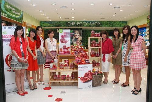 The Body Shop 'No Face Lift Needed 2010'