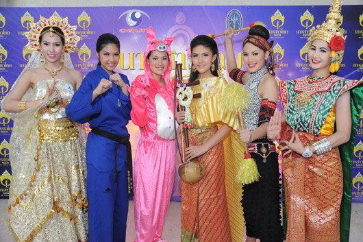 18 สาวงามนางสาวไทย โชว์ความสามารถพิเศษ