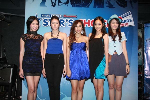 San Mig Light –สยามบันเทิง Star's Choice Awards 2010 ปีที่ 2