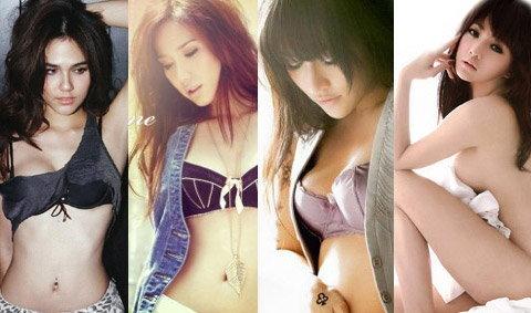 จัดอันดับสาวเซ็กซี่ แรงกระชากใจที่สุดแห่งปี 2553