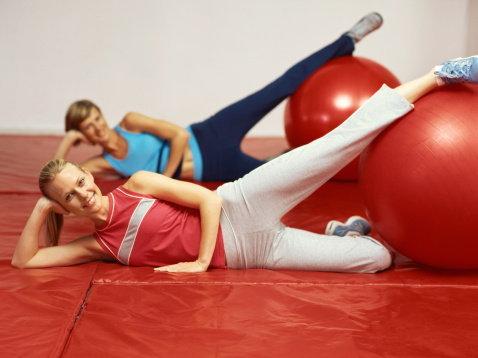 ฟิตบอล (Fit Ball) เทรนด์ใหม่ในการออกกำลังกาย