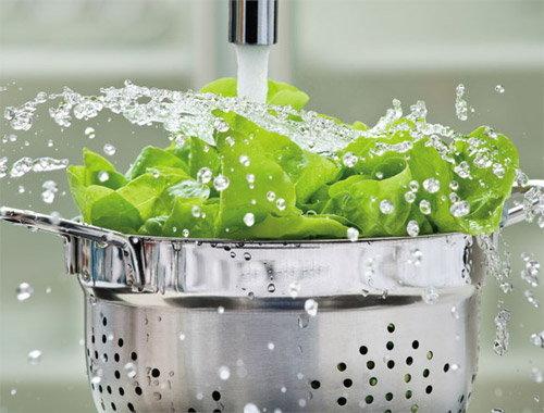 ล้างผักให้สะอาด