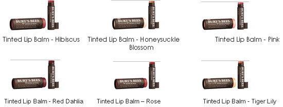 เบิร์ตส์บีส์ เปิดตัวผลิตภัณฑ์ใหม่ BURT'S BEES® Tinted Lip Balms