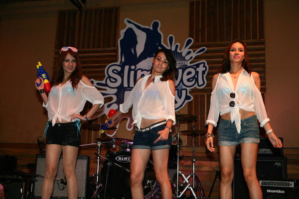San Mig Light Slim wet party ประเดิมโรดโชว์ 2 วันรวด!