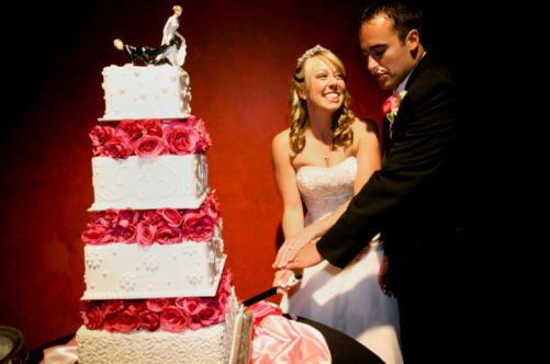 ขั้นตอนการตัดเค้กแต่งงาน