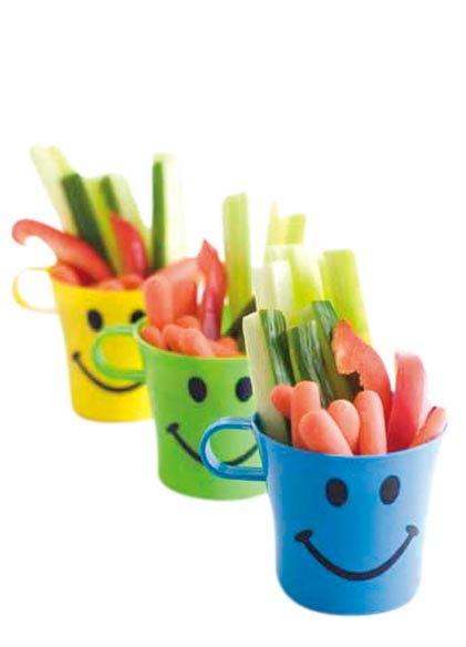 อยากให้ลูกกินผักลอง  ยิ้ม สิ