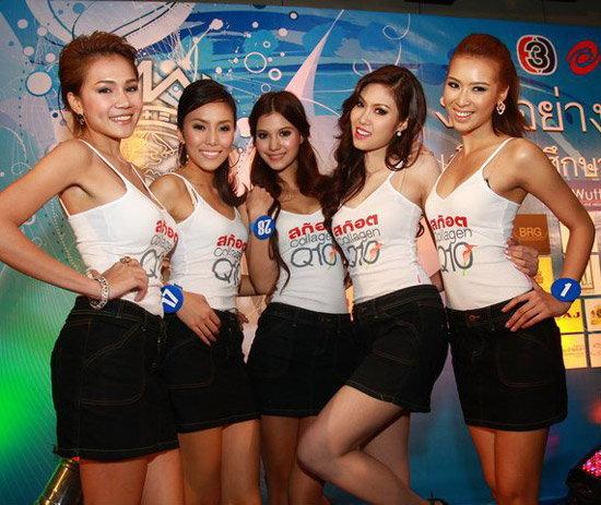 เปิดตัว 30 สาวงามมิสไทยแลนด์เวิลด์2011