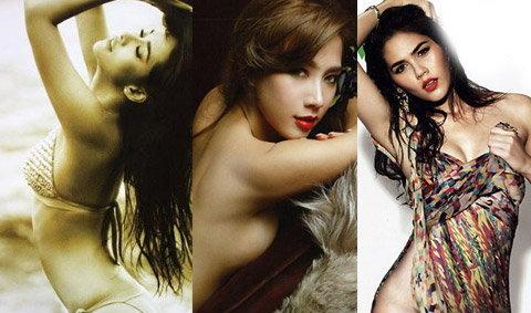 10 อันดับผู้หญิงเซ็กซี่ สุดฮอตปี 2554