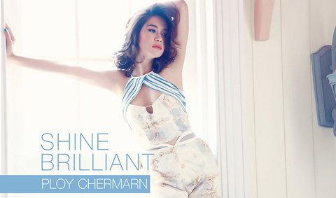 Ploy Chermarn  Wallpaper : Shine Brilliant