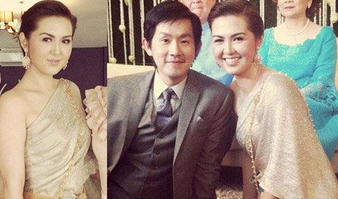 งามอย่างไทย ชุดแต่งงานของ จ๋า ยศสินี
