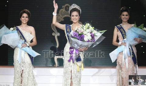 โบว์ลิ่ง ปริศนา คว้ามงกุฎ นางสาวไทย 2555