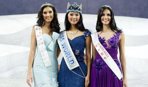 สาวจีนซิวมงกุฎมิสเวิลด์2012 ณฉัตร ไม่ผ่านรอบ 15 คน