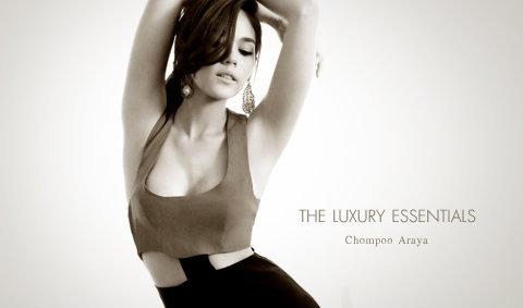 Chompoo Araya Wallpaper : The Luxury Essentials