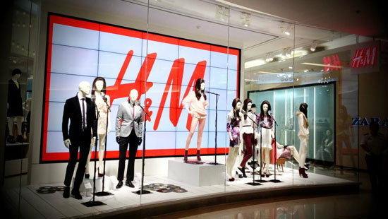 H&M สาขาแรกในเมืองไทย
