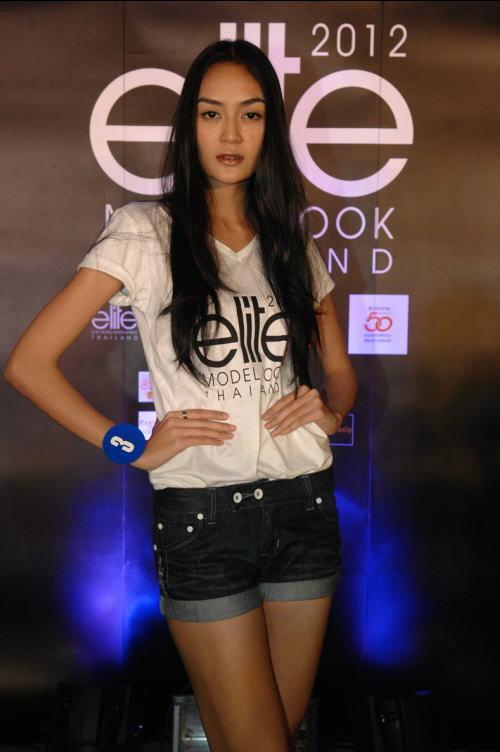 สาวมั่น 25 คนสุดท้าย Elite Model look Thailand 2012