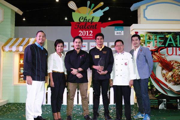 อ้น ธนพงษ์ กับเมนูเด็ดพิชิตใจกรรมการ คว้าแชมป์ Chef Talent 2012