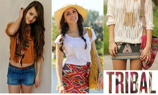 ฮอตฮิตกับเสื้อผ้าแนวชนเผ่า tribal print