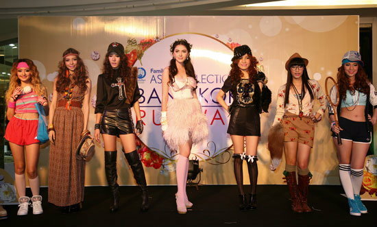 FamilyMart Asia Collection Bangkok Runway 2013