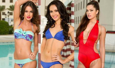 จัดเต็ม! Miss Universe 2012 ในชุดว่ายน้ำ