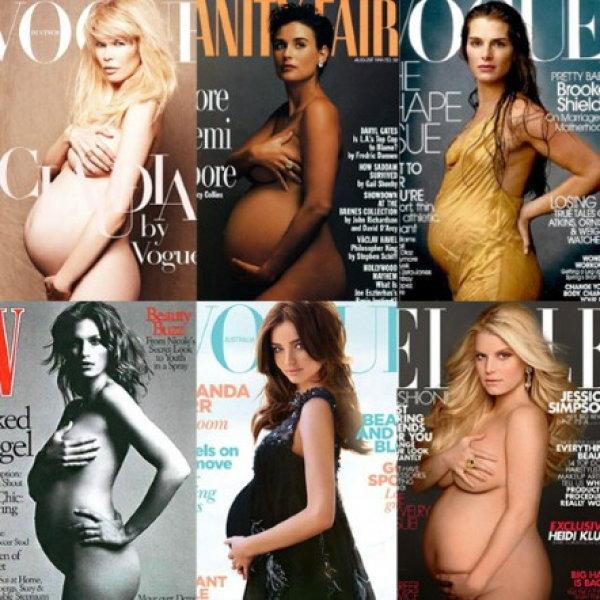 ที่สุด! รวมภาพผู้หญิงท้องที่สวยที่สุดในโลก