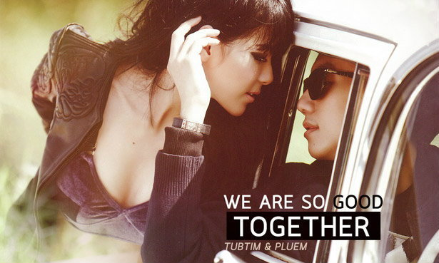 Tubtim & Pluem Wallpaper : WE ARE SO GOOD TOGETHER