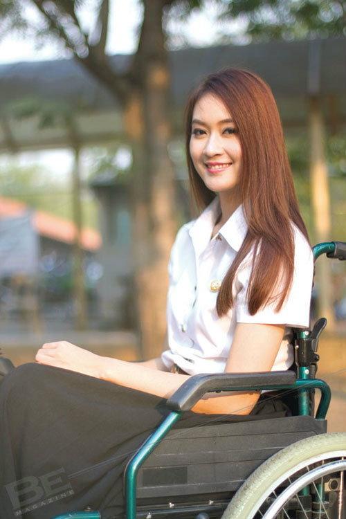 อุบัติเหตุ จุดเปลี่ยนช่วย ชมพู่  Miss Wheelchair เข้มแข็งขึ้น