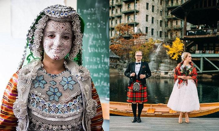 หลากหลายวัฒนธรรมการแต่งกายของบ่าวสาวจากงานแต่งงานทั่วโลก