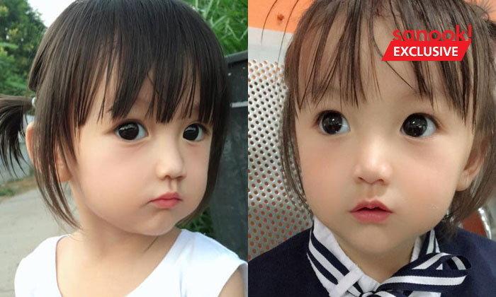 สวยแท้ไม่ใช้แอป! น้องสิตางค์ เด็กไทยหน้าตุ๊กตา ฉายา บาร์บี้อีสาน