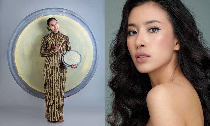 """ยอมแล้ว! """"แป้งทานาคา"""" จากเคล็ดลับความงามสู่ชุดประจำชาติพม่า Miss Universe 2018"""