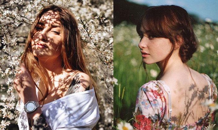 ถ่ายรูปคู่ดอกไม้ท้าแดด รูปสวยปังยอดไลค์กระจาย