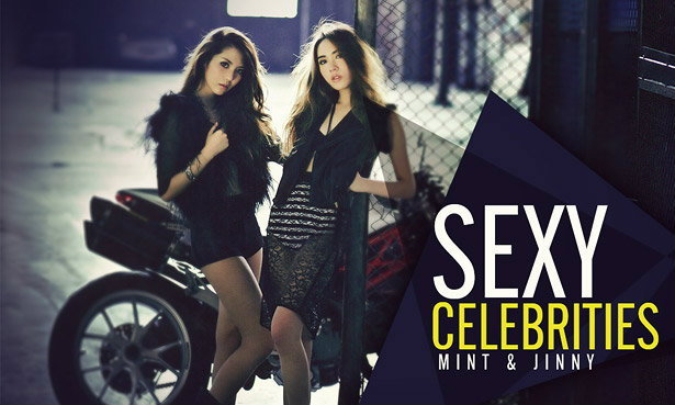 Mint & Jinny Wallpaper : Sexy Celebrities