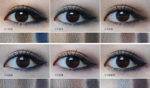 ดวงตาสวยแซ่บด้วยอายแชโดว์หลากสี