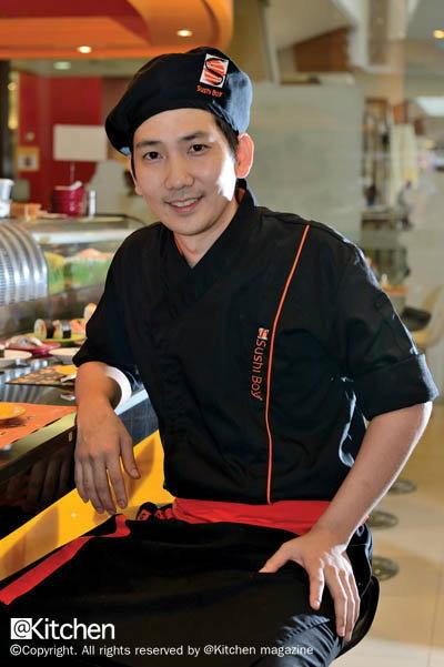 Proud to Present 'Sushi Boy'  เชฟตั้ม-เถ้าแก่น้อยซูชิ