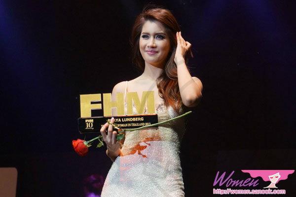 2 ปีซ้อน! ปู ไปรยา คว้ารางวัลผู้หญิงเซ็กซี่ที่สุดปี 2013
