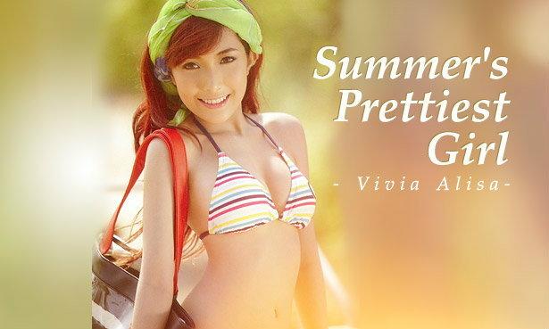 Vivia Alisa Wallpaper : Summer's Prettiest Girl
