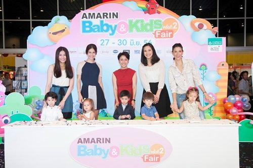 5 คุณแม่ Celebrity พิธีเปิดงาน Amarin Baby&Kids Fair ครั้งที่ 2