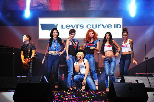 Levi's presents Rock Your Curve ID party with DA Endorphine