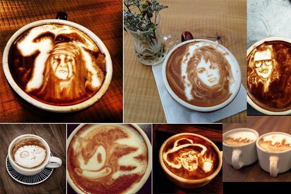 Coffee Art ขั้นเทพ...แปลกแต่เจ๋ง!
