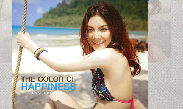 Sasi Sasiphat Wallpaper : The Color of Happiness