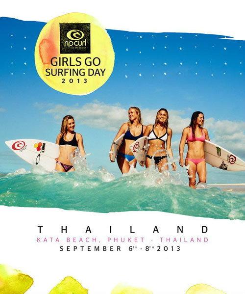 RIP CURL GIRLS GO SURFING DAY 2013