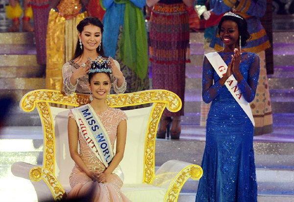 """สาวสวยฟิลิปปินส์ คว้ามงกุฏ """"มิสเวิลด์ 2013"""" ครั้งแรกในประวัติศาสตร์"""