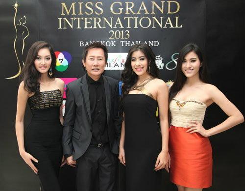 แถลงการประกวดนางงามระดับโลก Miss Grand International 2013