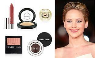 Glow and glam like Jennifer Lawrence