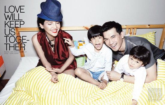 หน่อย คุน จุน เคน ครอบครัวอบอุ่น ที่ใครๆ ก็หลงรัก